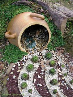 Pottery and stones