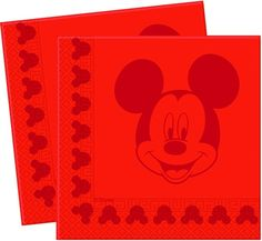 Disney Tone to tone, Lautasliinat, Mickey Face, 20 kpl