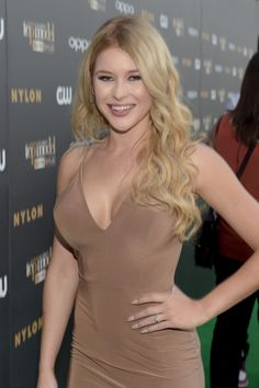 Renee Olstead attends the 'America's Next Top Model' Cycle 22 Premiere Party presented by OPPO and NYLON on July 28, 2015 in West Hollywood, California.
