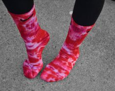 Valentines Nike Tie Dye Socks Gift Festive by DardezDesigns Basketball Shorts Girls, Adidas Basketball Shoes, Wsu Basketball, Volleyball, Tie Die Shirts, Cheer Shirts, How To Tie Dye, Tie And Dye, Baseball Costumes