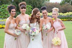 D Weddings | Briana Dai & Travis Vance, light pink bridesmaids dresses