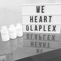 Love this Olaplex display at Redheads For Hair Art!