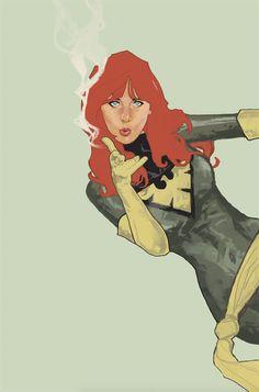 Phoenix by Dave Seguin<br /> Marvel Comics, Marvel Art, Marvel Heroes, Marvel Characters, Marvel Xmen, Marvel Girls, Comics Girls, Jean Grey, X Men 1
