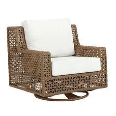 Provincetown Swivel Glider Chair | Ballard Designs