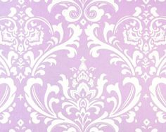 lavender damask - I would love this in Avery's room, perhaps as a focal wall.