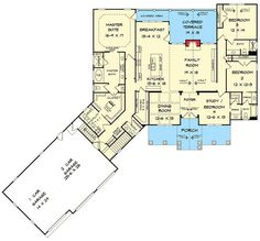 Craftsman House Plan with 3 Car Angled Garage - 36075DK | 1st Floor Master Suite, Bonus Room, Butler Walk-in Pantry, CAD Available, Craftsman, Den-Office-Library-Study, Jack