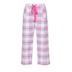 Cyberjammies White / Pink Plus Size Pyjama bottoms - matching top ($43) ❤ liked on Polyvore featuring intimates, sleepwear, pajamas, plus size, white, white pjs, white pajama bottoms, white pajamas, white sleepwear and plus size pajamas