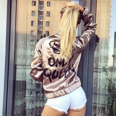 ONLY QUEEN BOMBER via Tillys. Click on the image to see more!