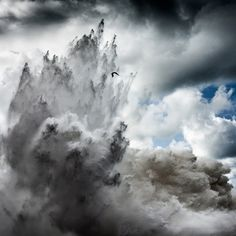 Alesandro Puccinelli. Intersection Series.    Rush of Water.    Clouds.    Cloud-water.    Volcano water.    http://www.alessandropuccinelli.com/