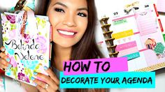 How To Decorate Your Planner | 365 The Happy Planner Belinda Selene