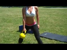 Total Body Kettlebell Workout Routine - YouTube