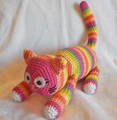Crochet Amigurumi Pattern Crochet Toy Cat