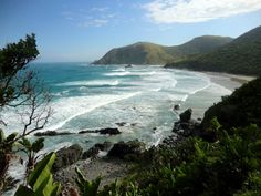 Beach near Port-Saint-Johns, How To Do Yoga, Hiking Trails, South Africa, Places To Go, Explore, Adventure, Landscape, Beach, Water
