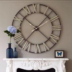 Scandinavian Living Room Decor Wall Clock Decor Clocks And Wall