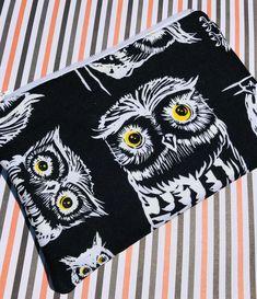 Owls Zipper Pouch: Halloween, Birds, Nocturnal.