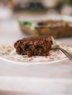 Easy Chocolate Cake With Date-Sweetened Chocolate Frosting