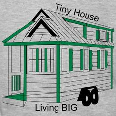 Tiny House Tiny Living the New Big How To Raise Money, How To Make, Tiny House Living, Tiny House Plans, House Made, How To Plan, House Styles, Big, Clothing