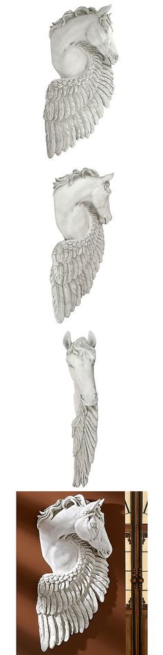 Wall Sculptures 166729: Design Toscano Wings Of Fury Pegasus Horse Sculpture Wall Décor -> BUY IT NOW ONLY: $154.99 on eBay!