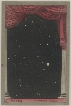 Playing card from the 'Astronomia' card game, 1829 / collection of images curated by S Ellcock Constellations, Sky Moon, Cartomancy, Tarot Decks, Night Skies, Deck Of Cards, Card Deck, Card Games, Celestial