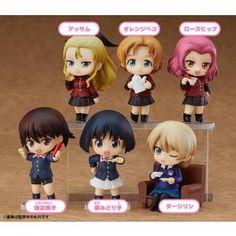 Girls und Panzer das Finale Nendoroid Petite Figure Box Set