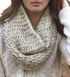 Alder Flecked Thick Knit Cowl by Beautiefull Things on Scoutmob Shoppe