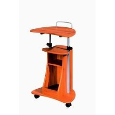 22Inch Mobile Teacher Podium Laptop Storage Adjustable Height New Free Shipping