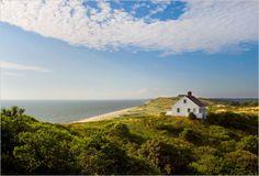 Edward Hopper's summer house in South Truro on Cape Cod.