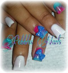 Acrylic nails by Pebbles