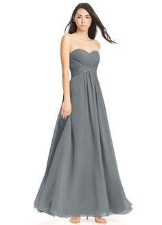 4a26340ca Azazie Yazmin Azazie Bridesmaid Dresses, Floor Length Dresses, Chiffon Dress,  Strapless Dress Formal