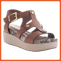 Nicole Women's Romy Brown 7.5 M - Sandals for women (*Amazon Partner-Link)