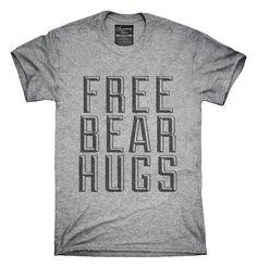 Free Bear Hugs T-shirts, Hoodies,