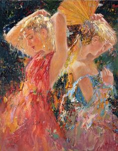 Tutt'Art@ | Pittura * Scultura * Poesia * Musica |: Mstislav Pavlov, 1967 | Russian Impressionist painter