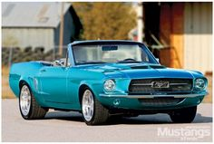 1967 Ford Mustang Convertible - Isadora: Complicated Yet Creative, This Drop-Top Mustang Shares a Great Deal With its Namesake