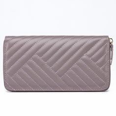 Fashion Women Genuine Leather Wallets Female Embroidery Zipper Phone Clutch Ladies 100% Real Cowhide Coin Purse AZ4059