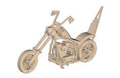 Easy Rider Captain America Chopper - Motorcycles & Bikes   MakeCNC.com