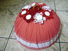 cobre bolo tecido 100% algodão, capa removivel para lavar