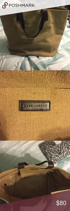 Marc Jacobs tote Used a few times. In great condition great for travel, the beach, over night etc. Marc Jacobs Bags Totes