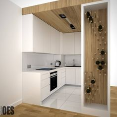 OES architekci: minimal tarz tarz Mutfak