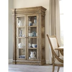 Are you looking for the perfect dining room hutch? I've rounded up a gorgeous collection of wood and reclaimed wood dining room hutch and buffets. Art Furniture, Dining Furniture, Furniture Makeover, Furniture Design, Dining Room Hutch, Muebles Living, Glass Cabinet Doors, Cabinet Decor, Glass Doors