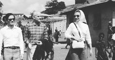 #mood  P.P.Pasolini, Alberto Moravia and Maria Callas in one of their trips to Africa. . . #pasolini #mariacallas #albertomoravia #trips