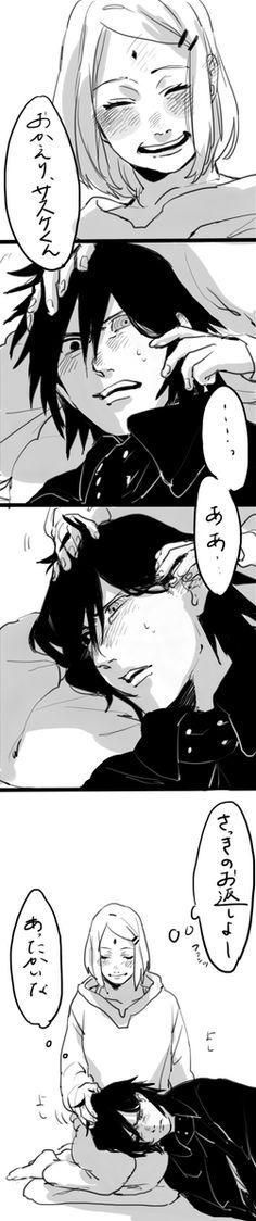Uchiha Sasuke & Haruno Sakura #SasuSak #fanart #part4