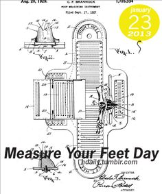 Measure Your Feet Day!
