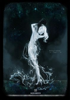 Aquarius by Heylenne.deviantart.com on @DeviantArt