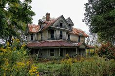 "Abandoned Homes in North Carolina | Abandoned Roadside NC Home"" -- [4983 N Carolina 18 - Sparta ..."