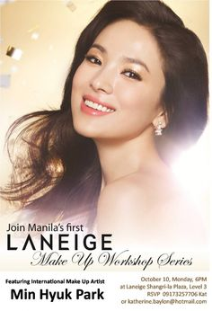 Song Hye-kyo for Laneige