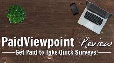 I'm always looking for simple ways to make extra money that don't take a lot of time. Most of the survey sites I have tried don't really fit into that category so I was pleasantly surprised when I first discovered PaidViewpoint. So, what is PaidViewpoint, how does it work, and how can you use it to make extra cash?
