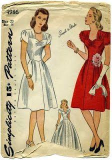 Free Vintage Tulip Sleeve Sewing Tutorial