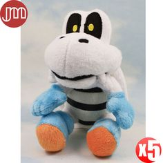 """Find More Movies & TV Information about New 5 PCS Super Mario Bros Tartosso Peluche Tartaruga Koopa Troopa Dry Bones Turtle Karon Stuffed Animal Doll Approx 15cm/6"""",High Quality animal paper dolls,China doll barbie Suppliers, Cheap doll b from M&J Toys Global Trading Co.,Ltd on Aliexpress.com"""