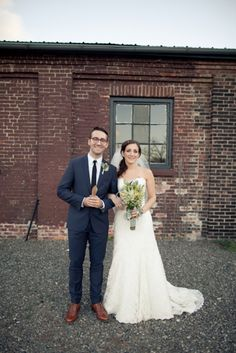 love their look | industrial new york bride + groom // photo by Isabelle Selby