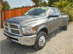 new 2012 Ram Dually Laramie Dodge Diesel Trucks, Dodge Pickup, Dually Trucks, Ram Trucks, Dakota Truck, Ram Power Wagon, Heavy Duty Trucks, 5th Wheels, Truck Accessories